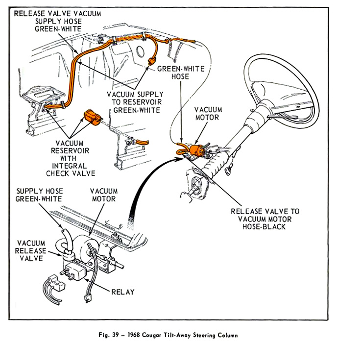 70 mustang ignition wiring diagram